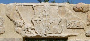 error en la atribucion del escudo por parte de Sáinz de Baranda