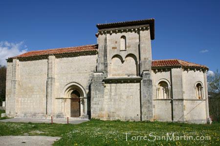 Iglesia de Siones - ejemplo del románico menes